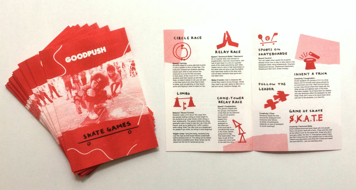 Goodpush Skate Games Booklet
