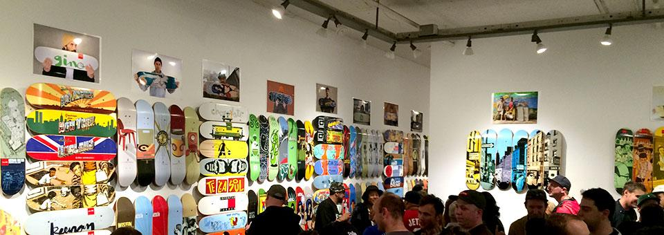 DeckAid Fundraiser for Skateistan in NYC